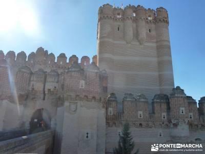 Castillos de Cuellar y Coca - Arte Mudéjar;rutas monasterio de piedra asociaciones de senderismo as
